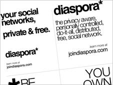 diaspora flyer from 2010